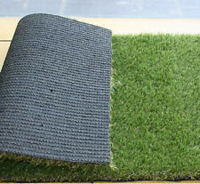 Premium Synthetic Turf Artificial Lawn Grass Rubber Backed With Drainage Hole