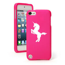For Apple iPod Touch 4th 5th 6th Rubber Hard Case Cover Unicorn
