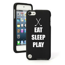 For Apple iPod Touch 4th 5th 6th Rubber Hard Case Cover Eat Sleep Golf