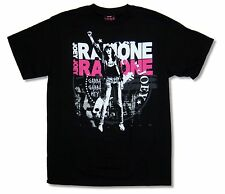 """JOEY RAMONE """"FIST""""  BLACK T SHIRT RAMONES BAND NEW OFFICIAL ADULT"""