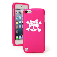For Apple iPod Touch 4th 5th 6th Rubber Hard Case Cover Heart Skull Bow