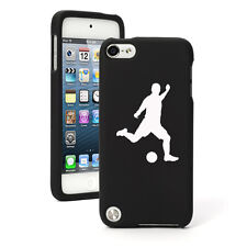 For Apple iPod Touch 4th 5th 6th Rubber Hard Case Cover Soccer Player