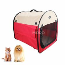 Portable Pet Dog Cat Crate/Carrier/House/Cage w/Carrying Handle Tent Kennel