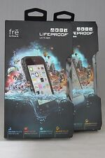 New! LifeProof Fre for Apple iPhone 5c Waterproof Phone case Black White