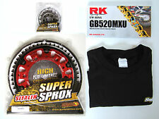 Supersprox USA Sprocket Kit O-Ring Chain Rear Front Tee Honda CR 125 CR125 06-08