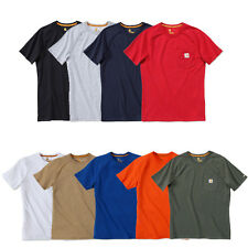 Carhartt Force 100410 Cotton Short Sleeve T-Shirt Baumwolle mit Brusttasche
