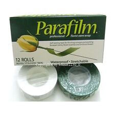 "Select WHITE or GREEN Parafilm® Florist Stem Wrap Floral Tape ½"" wide 30 Yards"