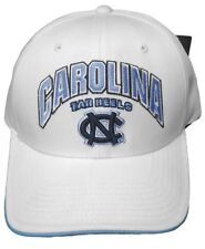 New! North Carolina Tar Heels Adjustable Back Hat Embroidered Cap - White