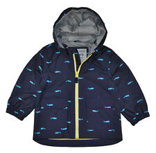 Carter's Toddler Boys Navy Whale Print Rain Jacket Size 2T 3T 4T