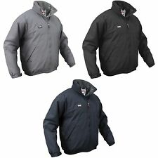 Slam Mens Lined Winter Sailing Jacket (Water Resistant And Windproof)