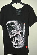 Men's Tee  T-SHIRT WIZ KHALIFA  YUNG  BLACK  M