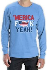 AMERICA F*CK YEAH! Patriotic USA Flag 4th of July Long Sleeve T-Shirt Day
