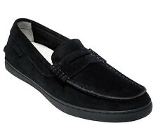 COLE HAAN SUEDE PINCH LTE PENNY LOAFERS