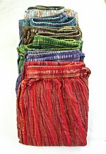 Gringo Fair Trade STONEWASHED Trousers Nepalese Cotton Festival Baggy Hippy