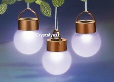 1PC Solar LED Hanging Ball Lantern Landscape Pathway Garden Outdoor Light D024 C