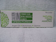 SALOON IN Green Forest Permanent Natural Zero Ammonia Hair Color~2.1 oz