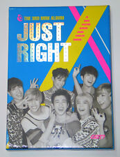 GOT7 - Just Right (3rd Mini Album) CD+84p Photobook+Photocard+Photo+Poster K-POP