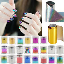 Wrap Nail Art Foil Sticker Transfer Decal Tip Manicure DIY Tools Nail Decoration