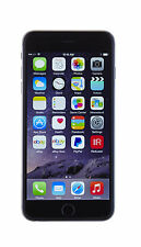 Apple iPhone 6 plus 64GB SPACE GREY GSM Unlocked+Clear Case Bundle