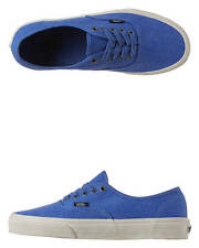 New Vans Men's - Authentic Overwashed Shoes Lace Canvas Mens Shoes Blue