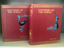 Countries Of The World (Volumes 1 + 2) - Edited By Sir John Hammerton - 2 Books!