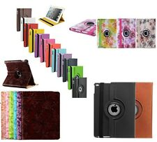 360 Degree Rotating Leather Case Cover Swivel Stand For Apple iPad Air 2 iPad 6