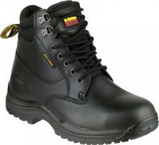 Dr Martens FS205 Leather Lace-Up S1 P HRO SRC Safety Work Steel Toe Boots Black