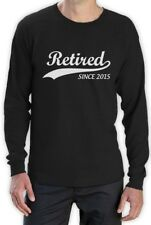 Retired Since 2015 - Cool Retirement Gift Idea Novelty Long Sleeve T-Shirt