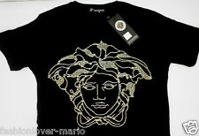 New with tags Mens Short Sleeve Black NEW MEDUSA LOOK T-Shirt!!!