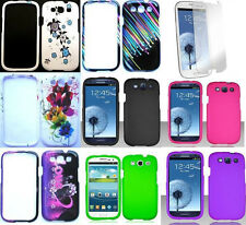 Phone DESIGN / COLOR Case + SCREEN PROTECTOR FOR Samsung Galaxy S3 SPH-L710R