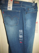 New Levi's #524 Junior's Jeans Size 13 Boot Cut Too Low Rise Skinny Fit +STORE