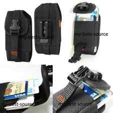 Wallet Style Vertical Case Cover Pouch w/Belt Clip For All Samsung Smart Phones