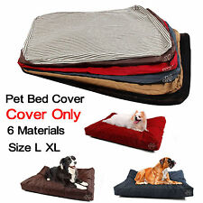 New Zipper Cover For Pet Bed Cushion Dog Bed Cover Replacement-Cover Only