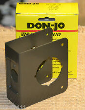 "Don-Jo CYLINDRICAL DOOR LOCKS with 2 - 1/8"" hole Wrap Around Security Plates"