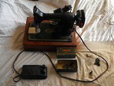 Vintage 99K Singer Sewing Machine with Accessories