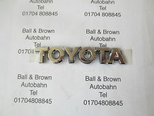 Toyota Badge Decal 94mm x 18mm