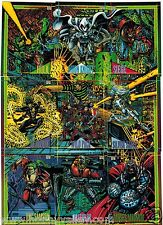 1993 MARVEL UNIVERSE SERIES IV 4 SkyBox Single Cards Complete Your Set #1-60