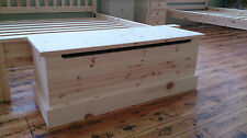 Trinity Pine Blanket Box Large - Any Finish/Size Available