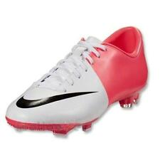 Shoes Nike Soccer Mercurial Victory III Fg 509128 106 man White Pink