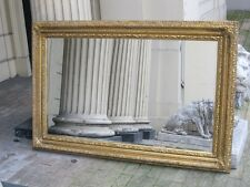 Valencia Antique Gold Ornate French Overmatle Dress Wall Mirror 5ft x4ft