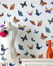Julien Macdonald 31-175 Flutterby White Butterfly Sparkle Glitter Wallpaper
