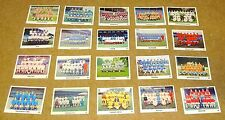 MULTI-LIST SELECTION OF THE SUN (NEWSPAPER) 1970/71 SWAP CARDS #40 - 68
