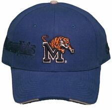NEW! Memphis University Tigers Adjustable Velcro Back Hat Embroidered Cap