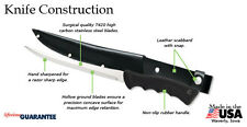 Rada Fish Fillet Knife USA made Leather sheath included, choose 2 blade lengths