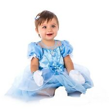 CINDERELLA~Baby~Costume~DRESS+GLOVES~Infant~Snap Bottom~NWT~Disney Store~2015
