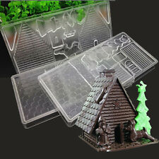 For Christmas Bell Polycarbonate PC Hard Plastic Xmas Candy Chocolate Mould Mold