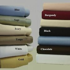Deluxe 1000 Thread Count Solid Bedding item 100%Egyptian Cotton All Color & Size