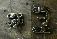 Catches Latches - Hollow Swing Catches Antique Brass DIY for bags and purses