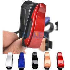 5 COLOR CAR AUTO SUN VISOR SUNGLASSES GLASSES CLIP HOLDER CARD TICKET CATCH CASE