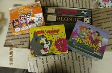 6 Cartoon Comic Box Lot! Over 160 Unopened Packs Great gift for Stocking Stuffer